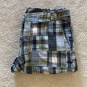 Rafaella plaid Bermuda shorts